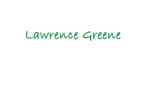 Lawrence Greene